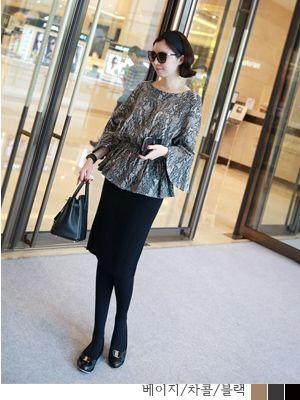 korean fashion online store [COCOBLACK] Jane KnitSK / Size : FREE / Price : 60.49 USD #korea #fashion #style #fashionshop #cocoblack #missyfashion #missy #bottom #skirts #knitskirt