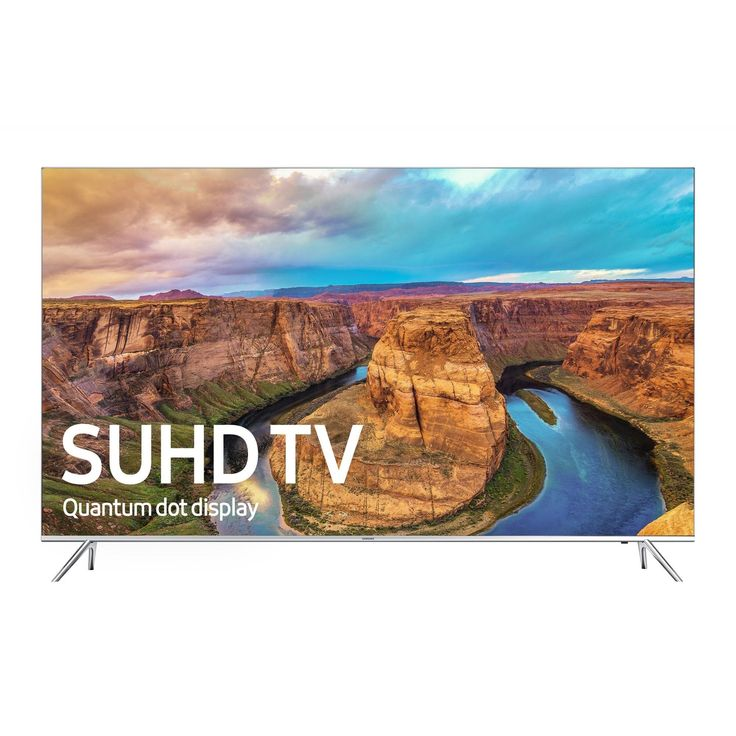 Samsung UN65KS8000 / UN65KS800D 65-Inch 4K SUHD Smart LED TV (2016 Model) (Certified Refurbished)