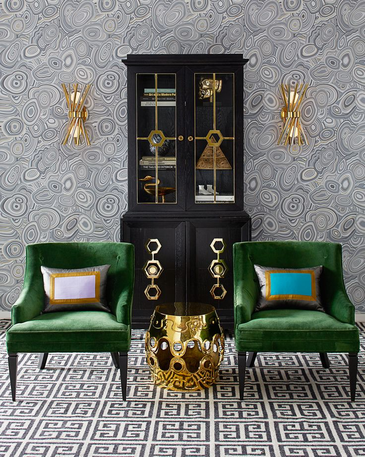 Emerald with envy? View more Jonathan Adler furniture, lighting, and decorative accessories that embody a Modern American Glamour style.