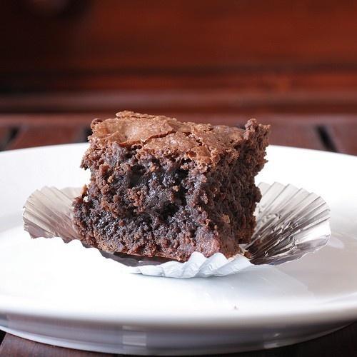 fudgy brownie #brownie.