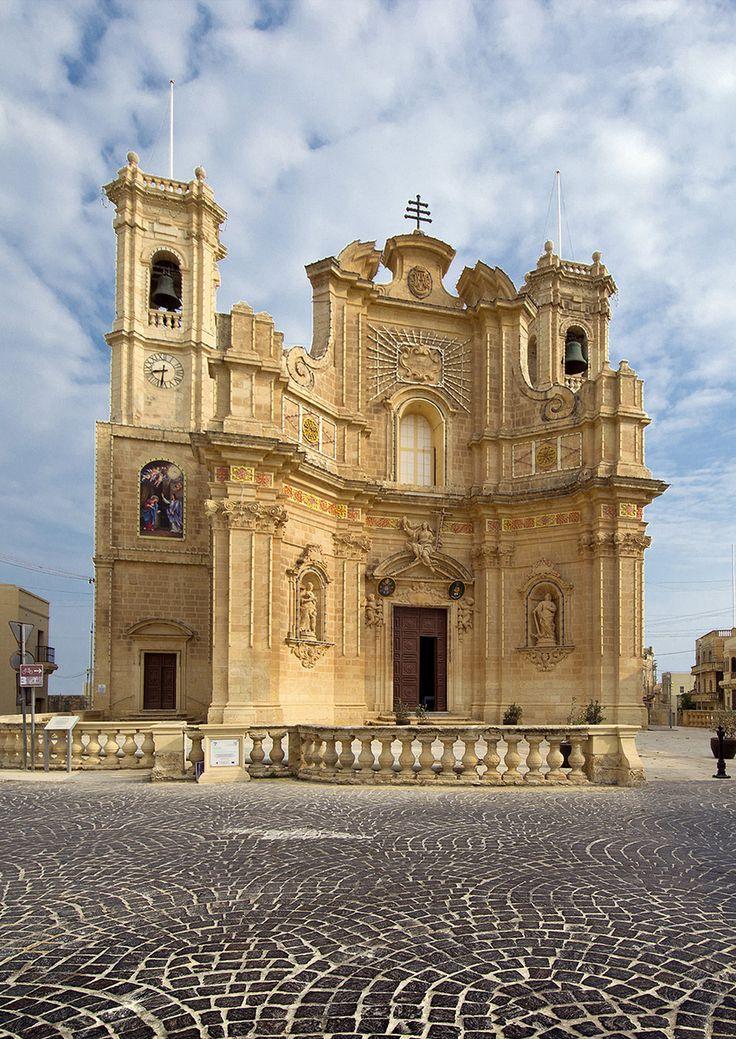 Gharb Church, Island of Gozo, Malta