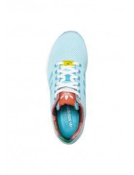 ADIDAS ORIGINALS ZX FLUX WEAVE women BLEU  http://www.fr-zx-flux.com/adidas-originals-zx-flux-weave-femme-bleu-vente-chaussures