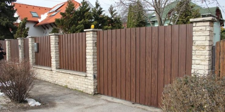 Gard din lemn 0034   Foisoare, garduri, terase, cabane, pergole