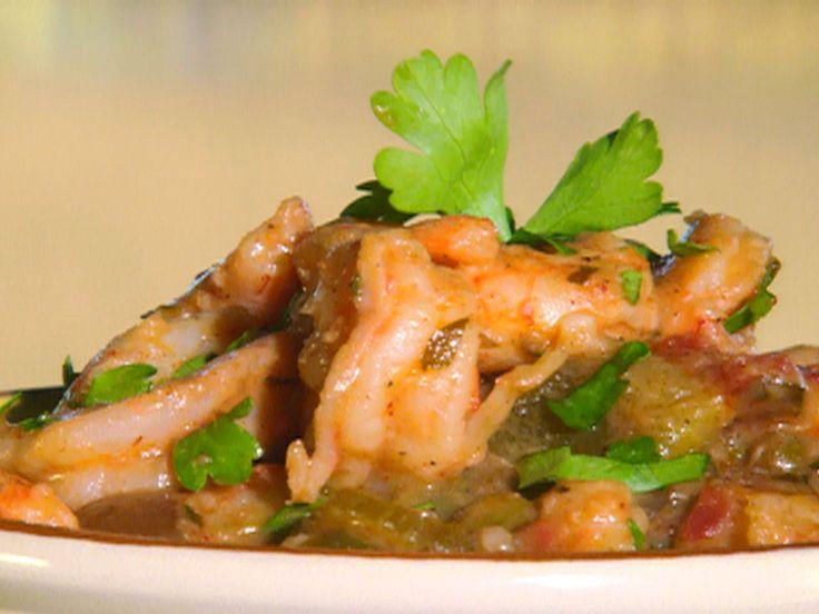 Shrimp Etouffee recipe from Paula Deen via Food Network