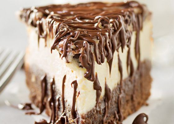 Δροσερό cheesecake με μπισκότο