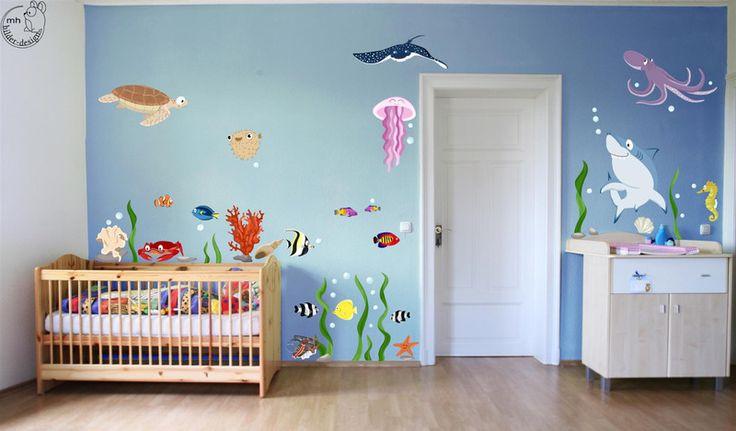 Die besten 25 wandtattoo welt ideen auf pinterest - Wandtattoo unterwasserwelt kinderzimmer ...
