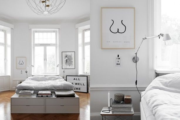 home tour, the perfect mix of new and old, scandinavian interior, residence magazin, Saša Antić, Kristofer Johnsson via http://www.scandinavianlovesong.com/