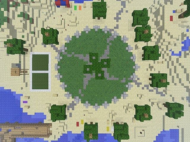 minecraft hunger games pictures   hunger games resort 2 hunger games resort 2 diamonds