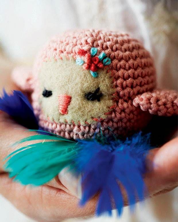 Hækl selv: Lille sød fugl fra Hendes Verden
