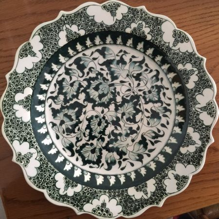 #handpainted #iznik #ceramic #plate #boniviri
