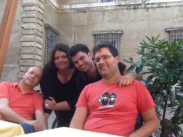 Francesco, Fabio, Carmelo. Ad Acquasparta