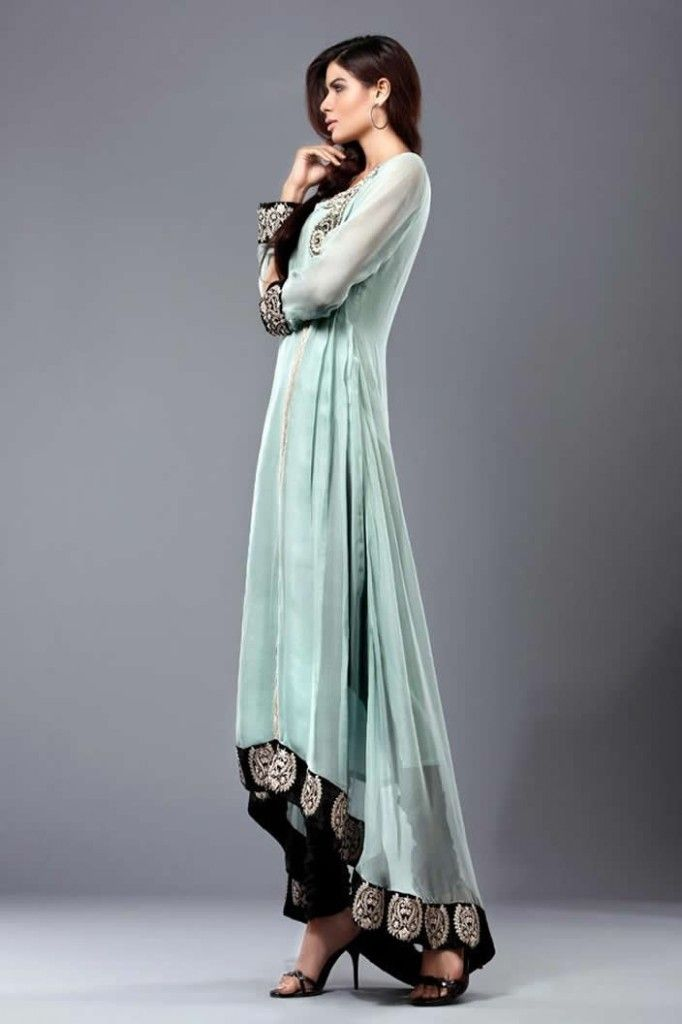 Best 25 Pakistani Long Dresses Ideas On Pinterest