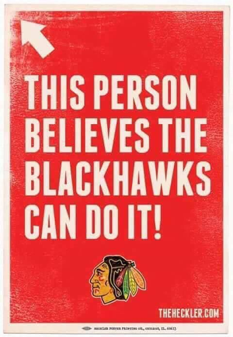 #Believe #NHL #Blackhawks