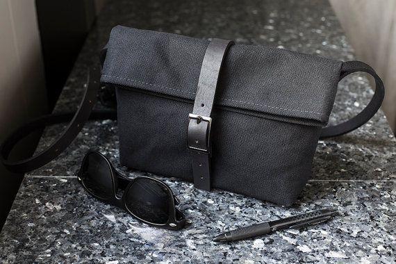 Zwarte kleine Crossbody Bag - klein zwart Crossbody tasje voor vrouwen - kleine…