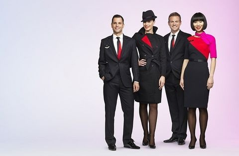 New Qantas uniform  - 2013