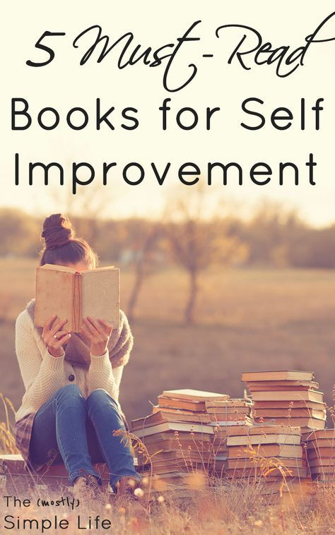 Best Self Improvement Books | Personal Development | Books about habit formation, morning routines, and how to be happier and healthier. via @mostlysimple1