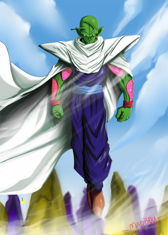 Piccolo by Madboy-Art on deviantART