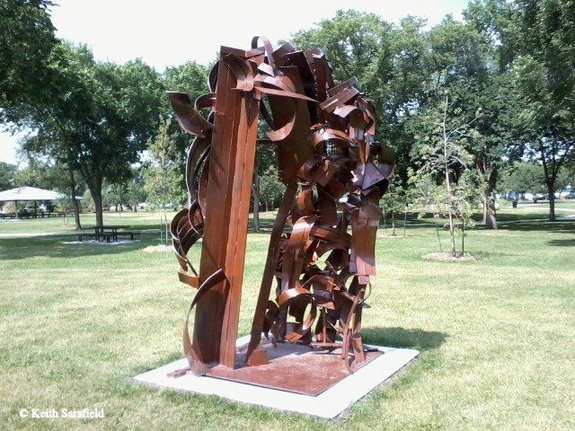 Unnamed Statue in Borden Park