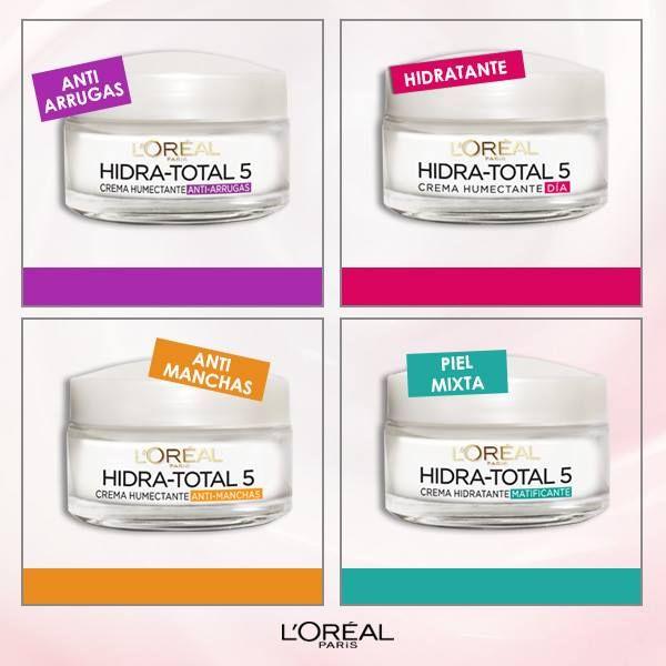 Cada piel es diferente, encuentra tu crema ideal para el cuidado básico de tu piel con la línea de Hidra Total 5.