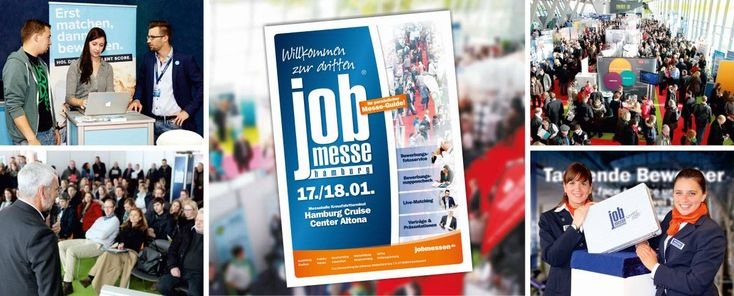 Jobmesse Hamburg 2015 im Crusise Center Altona
