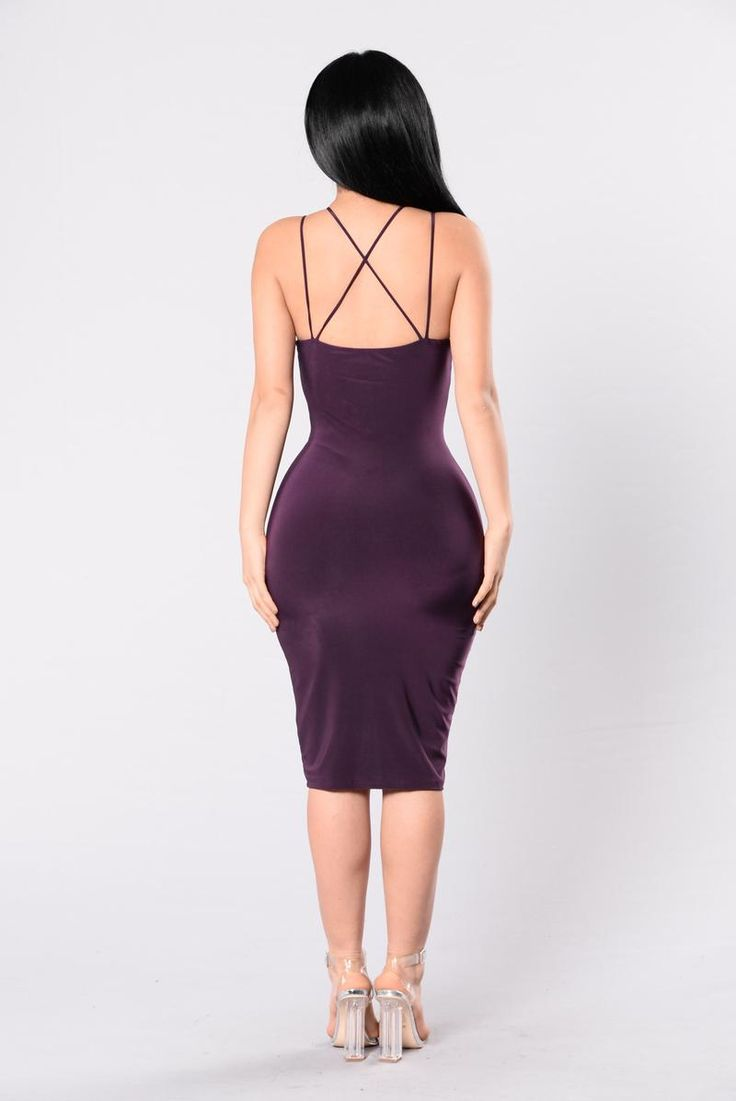 Drama Is For You Dress - Purple