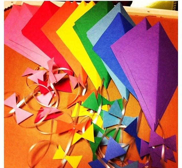 Kite door decs. My residents loved these