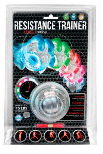 RESISTANCE TRAINING YOU CAN SEE WORKING RIGHT AWAY. REPLACE YOUR WEIGHTS WITH THIS EDGE RESISTANCE TRAINER
