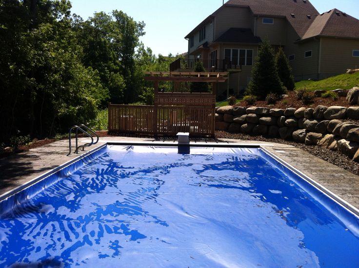 Betonbecken, Dekorativer Beton, Pool Terrasse, Schwimmbäder