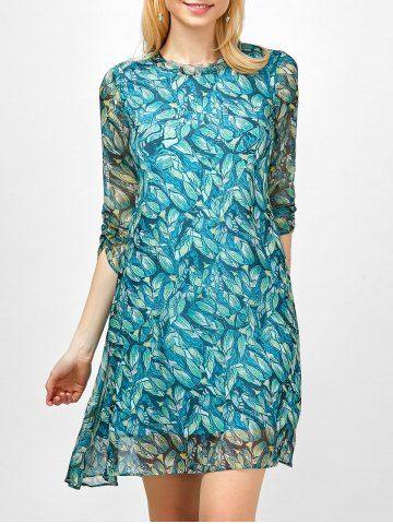 GET $50 NOW | Join RoseGal: Get YOUR $50 NOW!http://www.rosegal.com/print-dresses/printed-semi-sheer-chiffon-dress-1086699.html?seid=6110022rg1086699