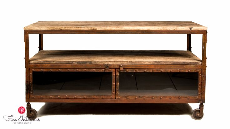 industrial TV console