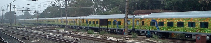 Calcutta - New Delhi, Duronto Express.