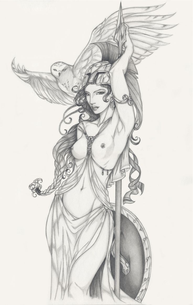 Request 9: Athena by Anyae on deviantART