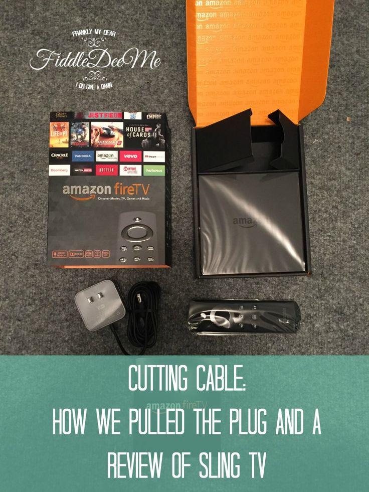 Cutting Cable and a Sling TV Review