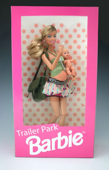 Trailer Trash Barbie | Not nearly as offensive as Trailer Park Barbie. But of course we know ...
