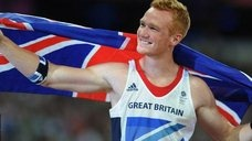 Greg Rutherford wins gold in long jump