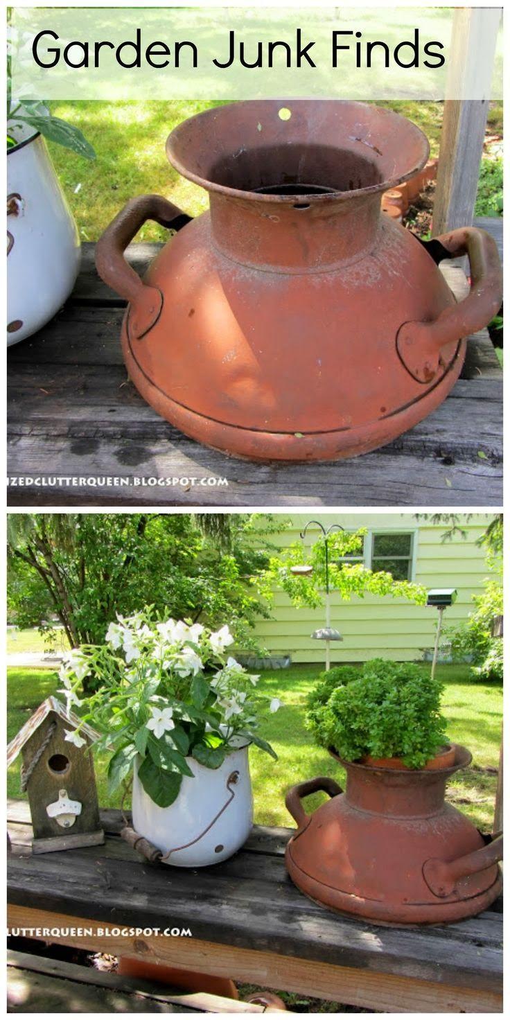 61 best Junk - Organized Clutter Blog images on Pinterest   Garden ...