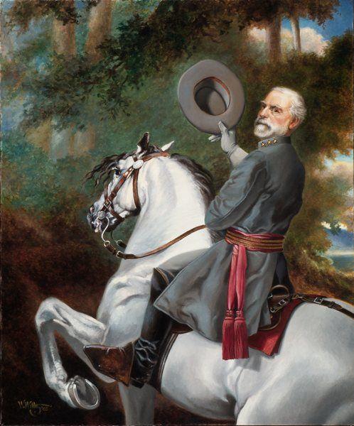 Robert E Lee Painting Traveller Famous