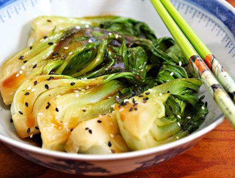 Bok Choy Stir-fry With Ginger And Garlic Recipe on Yummly. @yummly #recipe
