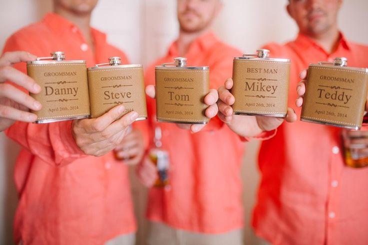 Groomsmen gift flask