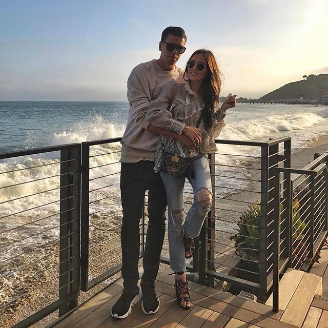 Instagram media by marina_official - Malibu @wojciech.szczesny1 ❤️#couplegoals #love #malibu #losangeles #la #nobu #fun #friends #nobumalibu #szczesny #funtimeswithfriends