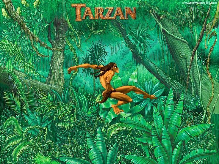 Walt Disney Tarzan Tarzan and Jane Wallpaper for FB Cover ...