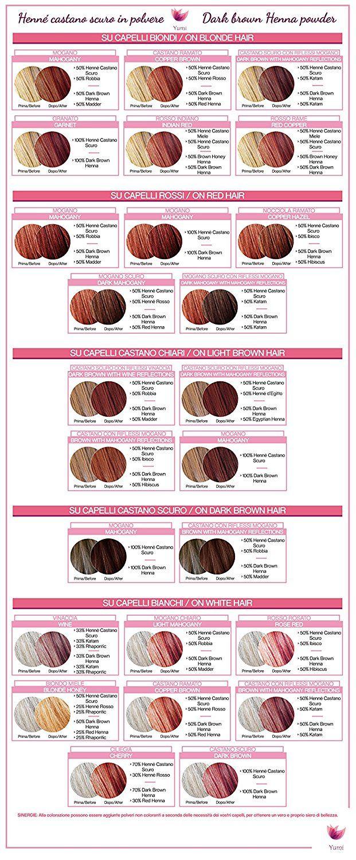 Yumi Bio Shop - Dark Mahogany Henna Hair Tint 8.8oz - Shimmering chestnut  #hairupdoideas