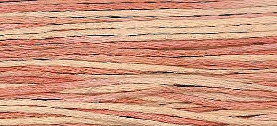 1135 Meredith's Pink  Weeks Dye Works 6 Strand by FiddlestixDesign, $2.30