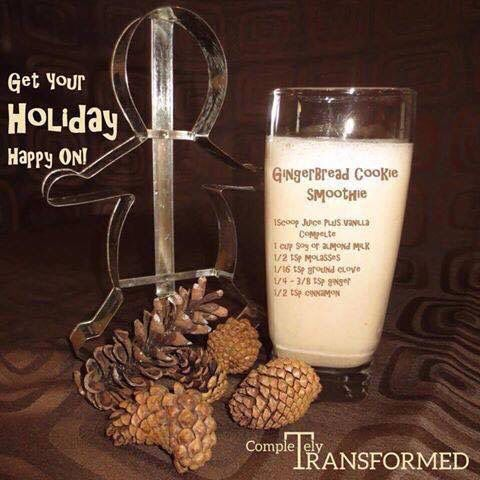 Gingerbread Cookie Smoothie - Juice Plus Complete