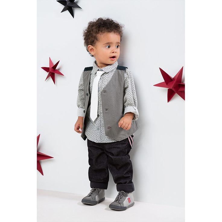 Pantalon en velours milleraies avec bretelles amovibles  ★• ˚ ˚ • Christmas Time • ˚ ˚ •★  #Christmas #noel #Xmas #gift #fashion