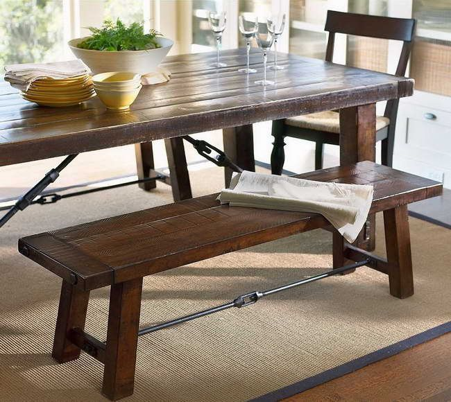Find This Pin And More On Kitchen Tables With Benches .