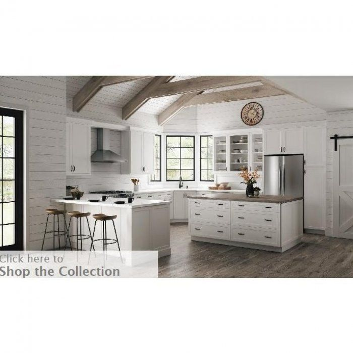 Hampton Bay Designer Series Melvern Assembled 36x42x12 In Wall Kitchen Cabinet With Glass Doors In 2020 Glass Cabinet Doors Glass Kitchen Cabinet Doors Kitchen Models
