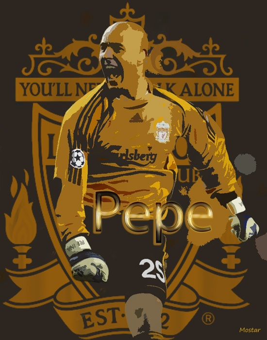 Pepe Reina by Mostar