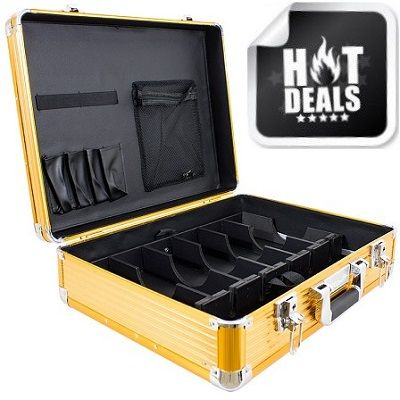 Vincent Limited Edition Large Master Case - Gold #VT10142-GD $119.95    Visit www.BarberSalon.com One stop shopping for Professional Barber Supplies, Salon Supplies, Hair & Wigs, Professional Product. GUARANTEE LOW PRICES!!! #barbersupply #barbersupplies #salonsupply #salonsupplies #Vincent #Limited #Edition #Large #Master #Case #Gold #VT10142GD