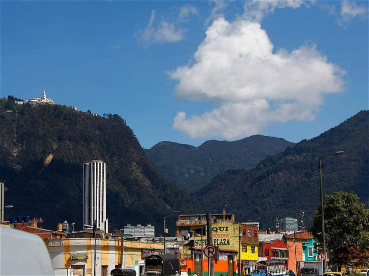 Cerro de Monserrate, Bogotá